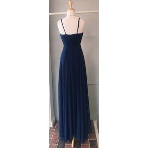 Dresses - Long navy blue gown